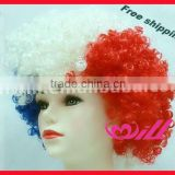 Pretty Afro Wigs Curly Hair Wigs Blue Synthetic Wigs Cheap Party Wig Synthetic Hair Wigs