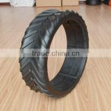 16x4.5inch semi pneumatic rubber tire with tractor tread for agricultural machine roller
