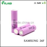 Authentic 18650 26F battery for samsung 18650 battery spot welder
