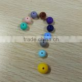 9mm 12mm 15mm 19mm Round Beads for Jewelry Making Baby Teething Beads Silicone Loose Beads