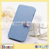 PU Material and For Motorola Compatible Brand wallet leather case flip cover for moto x play , case for moto x play