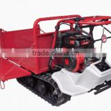 farm rubber track trailer tractor tipper trailer