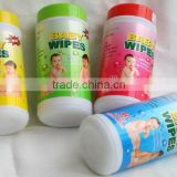 TUBE PACKED BABY WIPE, IN CANISTER