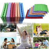 2016 best-selling colorful useful Picnic Pad Outdoor Cushion Camping Mat Waterproof Folding Sitting Chair pad
