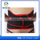 Neoprene Waist Belt For Weightlifter Bodybuilding Sport Belt Belly Burner Rubber Waist Supporter Fitness Belt