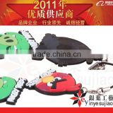 TV souvenirs PVC mobile string strap