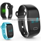 JW018 Bluetooth 4.0 Smart band bracelet & Heart Rate Monitor Activity fitness Tracker Wristband for IOS & Android device
