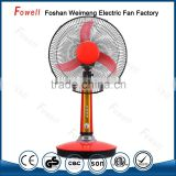 2016 New On Sale Now Electric Industrial Rechargeable Fan 12V 16Inch Table Fan