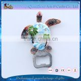 animal shape bottle opener wholesale custom magnet fridge