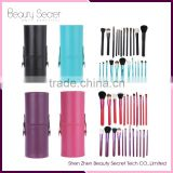 12pcs aluminum handle make up brush sets makeup use