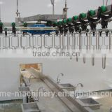 live chicken slaughter Poultry Killing And Bleeding And Processing Automatic Conveying System of poultry slaughter line