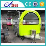 2016 hot selling Fast Food Caravan