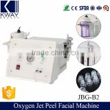 Skin Deeply Clean Skin Moisturizing High Quality Oxygen Jet Peel Water Hyperbaric Professional Oxygen Facial Machine Improve Allergic Skin Dermabrasion Skin Rejuvenation Machine Diamond Dermabrasion