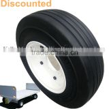 hot sale 13 inch 3.20-8 small trailer solid rubber tires and wheels for tractors with cheap price