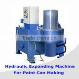 Semi-automatic metal bucket expending machinery