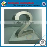 Stainless steel 3D apartment house number