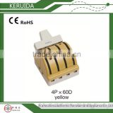 porcelain / ceramic single / double throw pole knife switch with Certificate of compliance