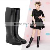 PVC upper EVA insole footbed waterproof classic horse riding luxury europe style outdoor use tall boot women wellies