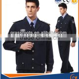 Chinese latest design Comfortable Long Sleeve Security Shirt,Security Guards Uniforms,Best Price Security Shirt for Mens