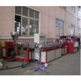 High Quality PVC Plastic Pipe Extrusion Line , PVC Fiber Reinforced Soft Pipe Production Line