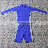 Factory wholesale top quality kids sportswear suit , children neoprene swimwear M5081303