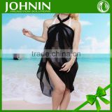 JOHNIN made Custom NO MOQ digital printing fashion lady beach chiffon sarong scarf