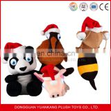 plush animal gift sets guangdong new toys for christmas 2016