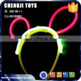 Hot popualr children glow in the dark hair accessories
