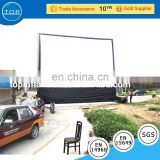 large air sealed inflatable film Flexible Pvc fabric movie screen for cinema