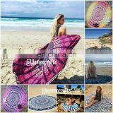 Star mandala Beach Towel Throw