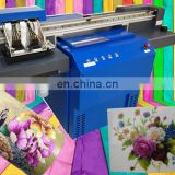 Round tray double head uv mug printing machine