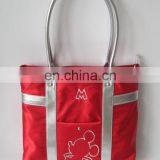 fashion Mickey Mouse print handbag laptop for woman