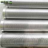 Galvanized carbon steel wedge wire screen for water filter