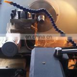 CK6150a 4-jaw chuck cnc control turning tool post lathe machine