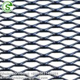 Decorative aluminum expanded trailer mesh
