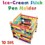 Ice-Cream Stick Pen Holder Pack of 10