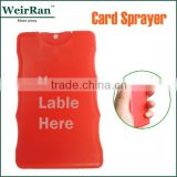 hot sale credit card sprayer (103994) facial mini portable mist moisture sprayer