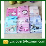 Colorful cover PP plastic photo album for girls