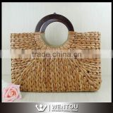 Wholesale Weave Natural Summer Cane Grass Bag Straw Bag