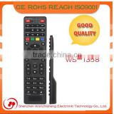2015 Hot selling high quality universal learning remote control for TV/STB/DVB etc from Shenzhen Manufature factory