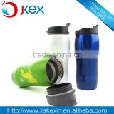 Hot sale double wall stainless steel tea tumbler oval tumbler