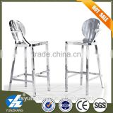Stainless steel base high chair bar stool                                                                         Quality Choice