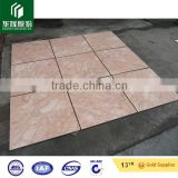 valencia red marble laminated tile composite tile for flooring