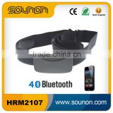 Fitness Bluetooth 4.0 Heart Rate Monitor with Chest Belt, Chest Strap Heart Rate Monitor Polar Compatiable with iOS and Android