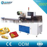 Automatic Stick Biscuits Horizonal Flow Wrapping Machine