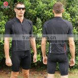 High performance Mens Bike Padded Wear Bicycle Set Short Sleeve Cycling Sport Jersey Shorts Suit