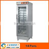High quality single door manual control 14 trays commercial pita bread bakery making machine equipment