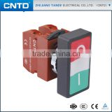 CNTD CE Approved 1A+1B Products Mini Toggle Button Pushbutton Switch C2PND
