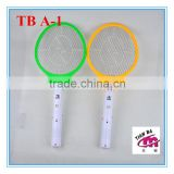 TB A-1 hot rechargeable indoor electric plastic insect swatter