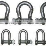 USA Type stainless steel bow shackle